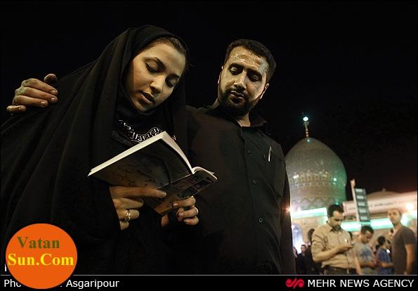عکسهای جالب ونکته دار از مراسم شبهای قدر رمضان