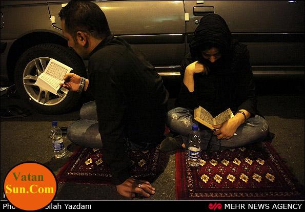 عکسهای جالب ونکته دار از مراسم شبهای قدر رمضان ۹۱