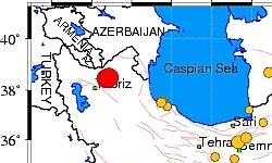 زلزله ای با قدرت ۶٫۲ ریشتر شمال غرب ایران را لرزاند / تا کنون ۸۷ کشته بیش از ۶۰۰ زخمی