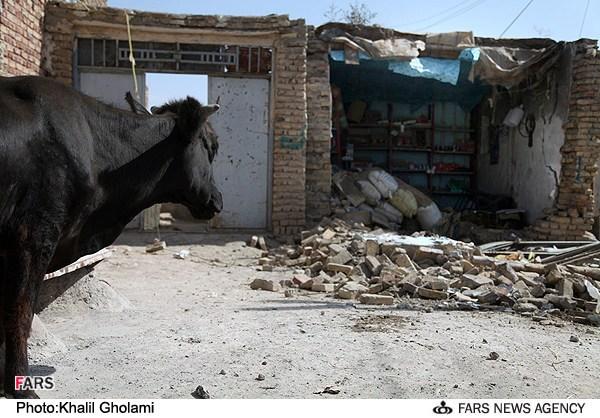 منطقه زلزله زده ورزقان آذربایجان شرقی