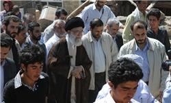 خبرگزاری فارس: حضور رهبر معظم انقلاب در مناطق زلزلهزده آذربایجان