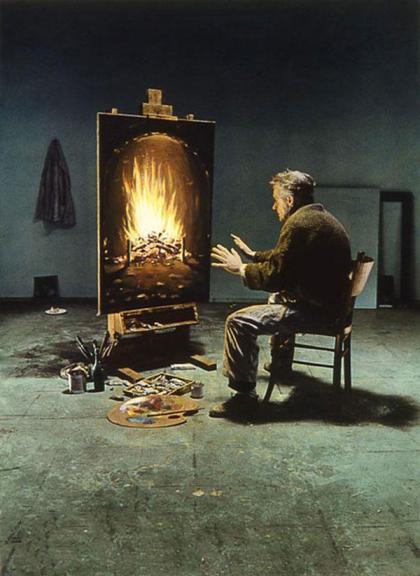 نقاشی عکس های بسیار زیبای یک هنرمند