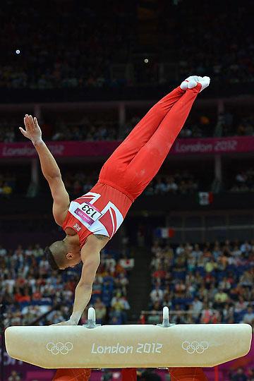 تصاویر مسابقات ژیمناستیک المپیک لندن