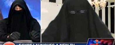 مسخره کردن حجاب بوسیله مجری کانادایی + عکس
