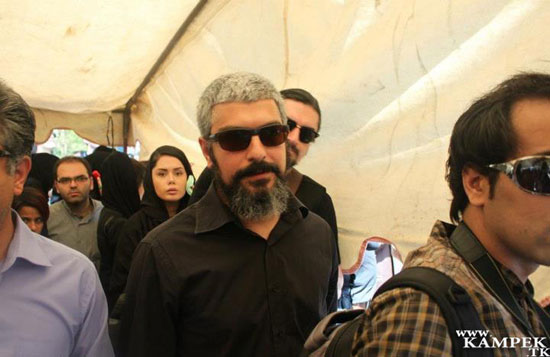 بازیگران مشهور در مراسم بزرگداشت حمید سمندریان (عکس)