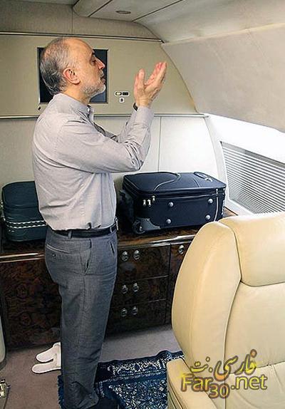 23307 3591 مراسم احیای صالحی در هواپیما