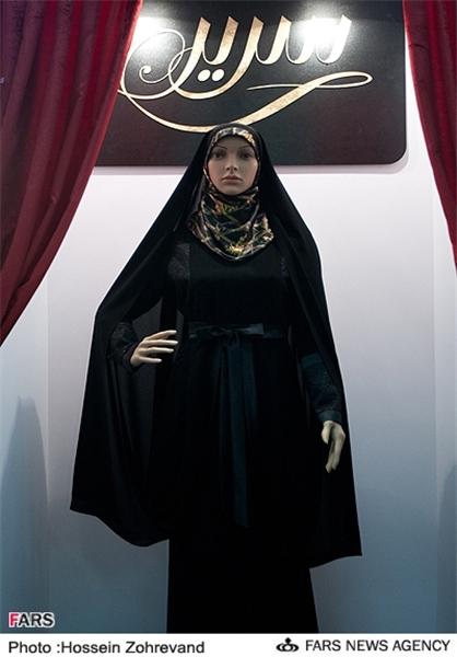 مدل جدید مانتو چادر / عکس