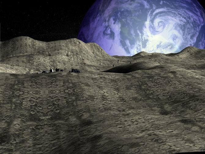 تصاویر زیبا از ماه در طبیعت