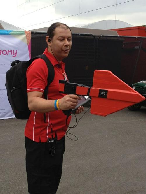 پلیس Wi Fi در المپیک لندن