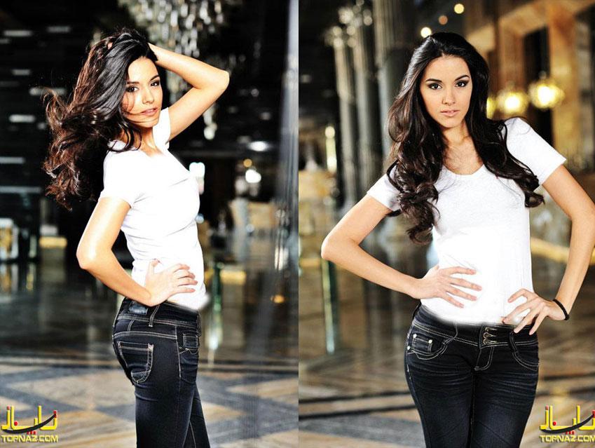 عکس نماینده بلغارستان در مسابقات دختر شایسته جهان