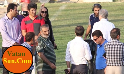 نیکی کریمی در تمرینات استقلال !+تصاویر