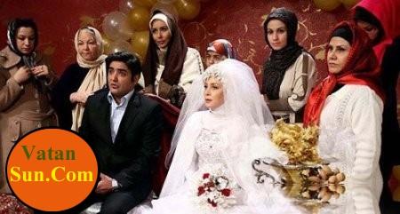عکس عروسی حدیث فولادوند و رامبد شکرآبی