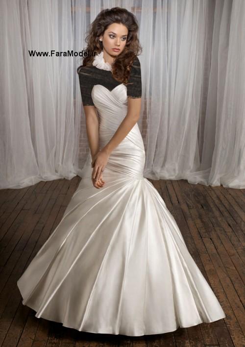 مدل لباس عروس طرح Angelina Faccenda سری ۲