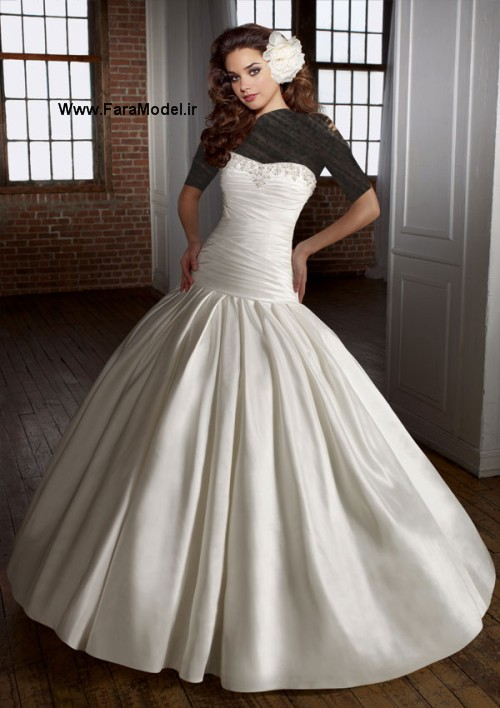 مدل لباس عروس طرح Angelina Faccenda سری 2  - Wwww.FaraModel.ir