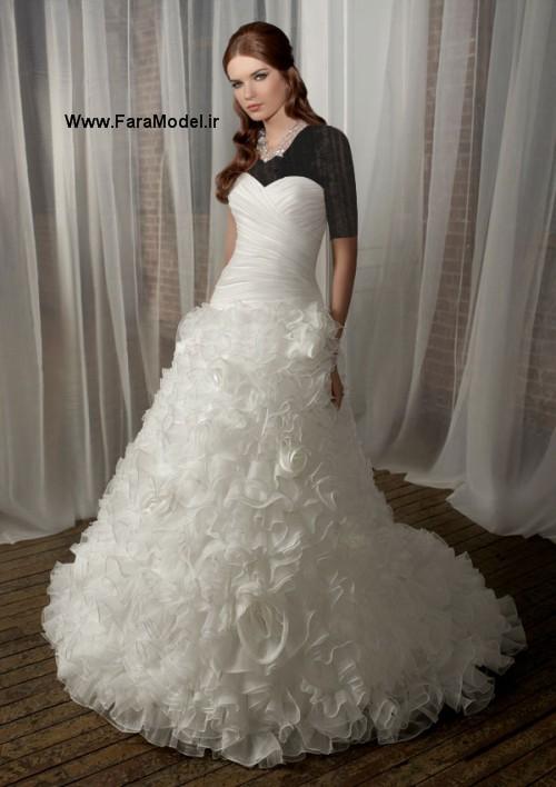 مدل لباس عروس Angelina Faccenda سری 3  - Wwww.FaraModel.ir