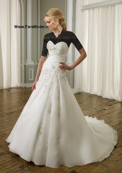 لباس عروس طرح Mori Lee سری 3  - Wwww.FaraModel.ir