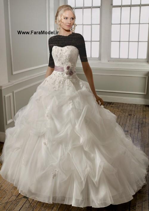 مدل لباس عروس طرح Mori Lee 2012 سری ۴