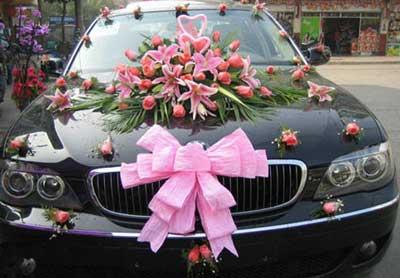 عکس هایی از ماشین های عروس