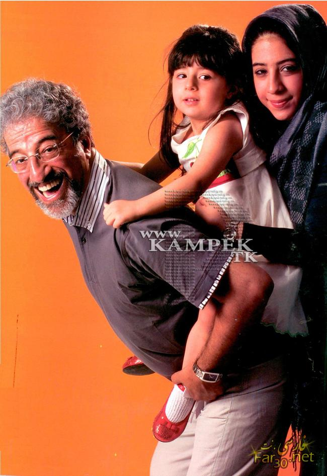 kampek tk 841 عکس های بازیگران در کنار فرزندانشان