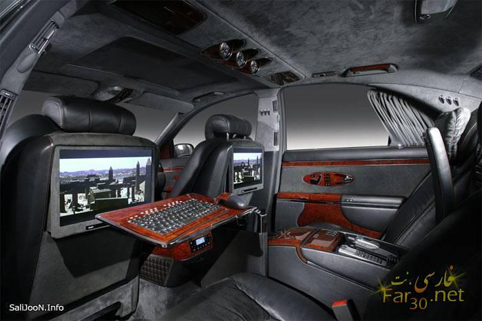 pc0284847cffbebdfefaddca96cf99590f 9t لوکس ترین ماشین روز دنیا از کمپانی Maybach (عکس)