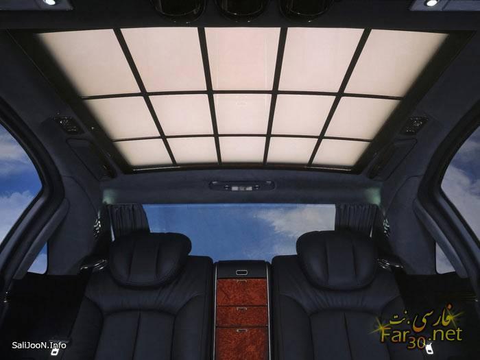 pc70b69cee82c7b3289aa5bd5fb3f2241d 2t لوکس ترین ماشین روز دنیا از کمپانی Maybach (عکس)