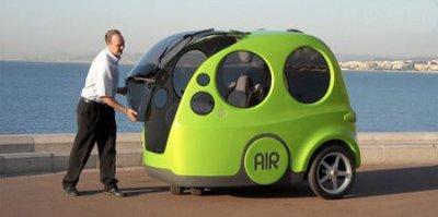 اختراع ماشینی که با هوا کار میکند
