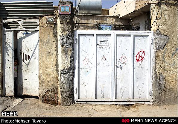 عکس هایی از تخریب منازل و مراکز فساد در شیراز