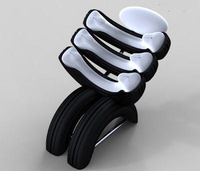 روش های جالب استفاده از تایرهای بی مصرف