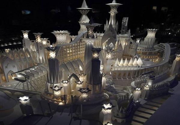 شهرهای کاغذ و نور
