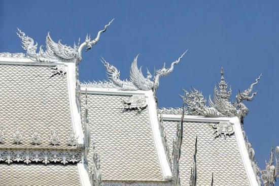 شگفتی های معبد سفید تایلند
