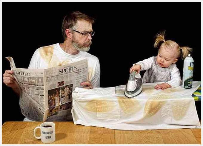 تصاویر باحال از پدران نمونه