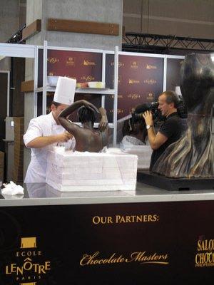 تصاویر شوی شکلات در فرانسه