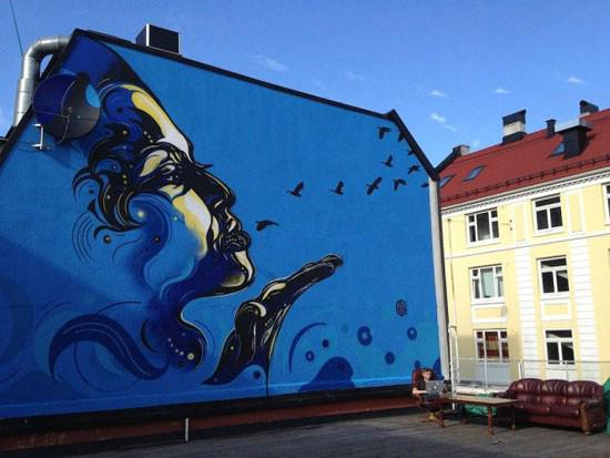 نقاشی های خیابانی زیبا و خلاقانه