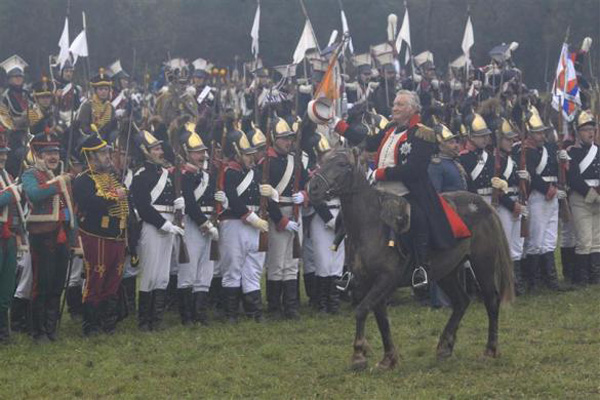 شکست ناپلئون در برابر چشم پوتین