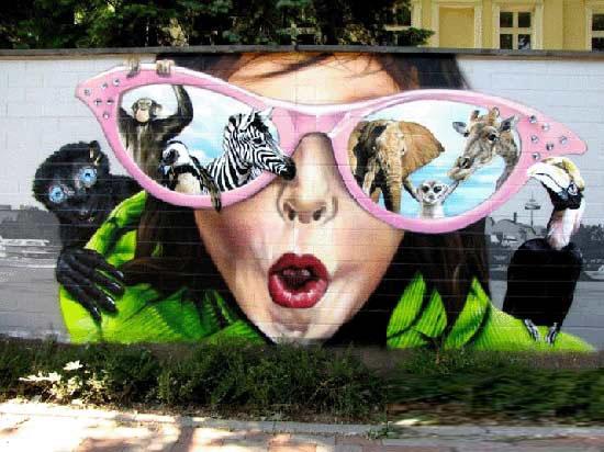 شاهکارهای هنر خیابانی