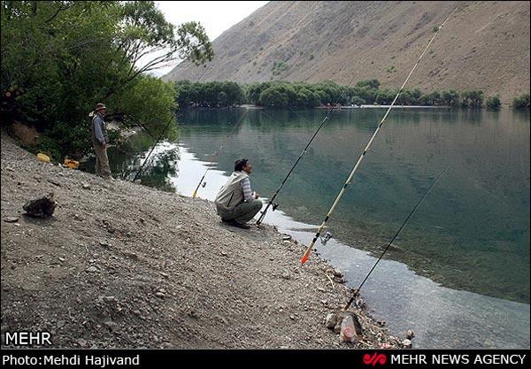 تصاویر طبیعت زیبای دریاچه گهر