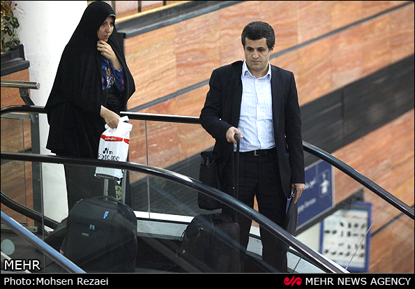 تصاویر ورود پسر هاشمی به تهران