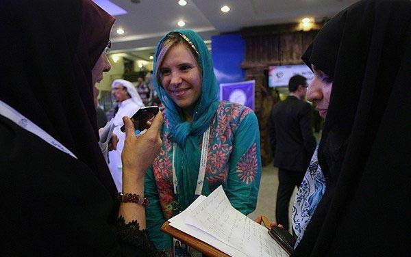 تصاویری از احترام به قوانین ایران