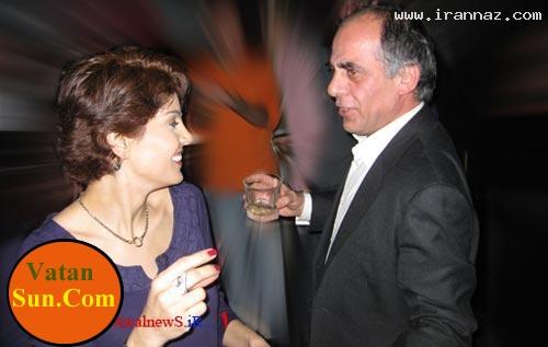 تصاویری از مجریان شبکه BBC فارسی در پارتی شبانه