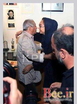 نیکی کریمی آقای بازیگر را در آغوش گرفت! +تصاویر