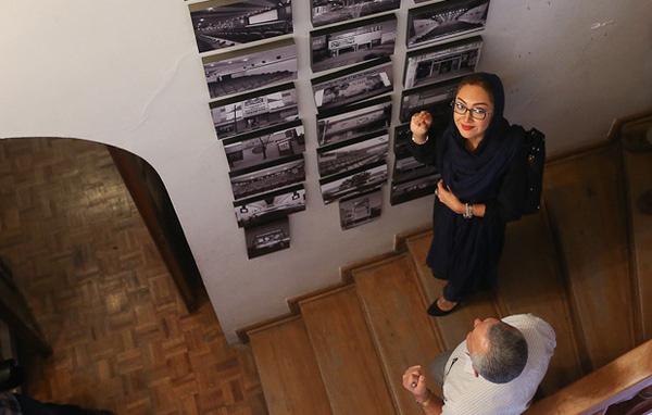رونمایی غرفه نیکی کریمی در موزه سینما