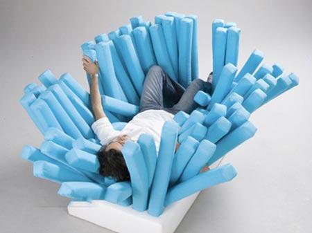 مبل و صندلی های عجیب و غریب