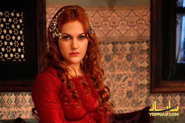 بازیگر زن دو رگه در سریال حریم سلطان+عکس