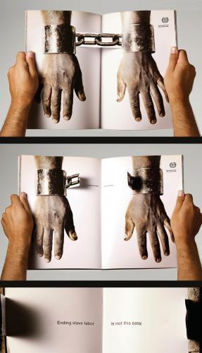عکس هایی از تبلیغات خلاقانه