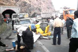 تلفات جادهای 6 درصد کاهش یافت