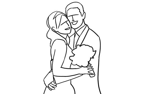31a699095a3b68d1ab808c979a41fb17 - چند نمونه ژست و فیگور برای عکس عروس و داماد