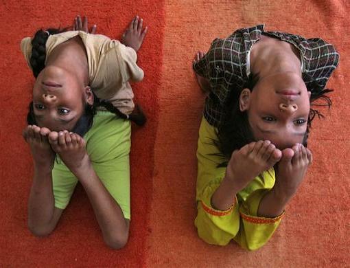 انعطاف باورنکردنی دختران هندی
