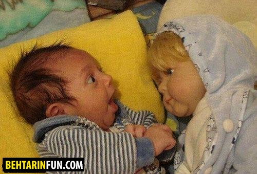 عکس های بامزه و خنده دار (5)