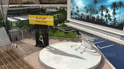 تصاویری از پروژه بین المللی شهر توریستی صددروازه