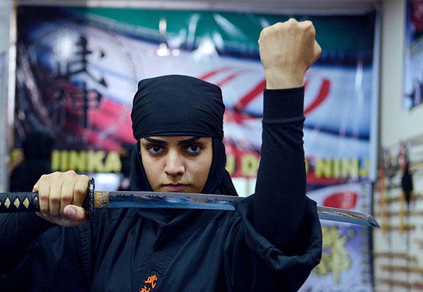 عکس جدید از بانوان نینجا کار ایرانی (2)